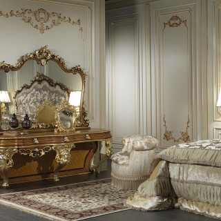 Specchio da camera classico stile barocco