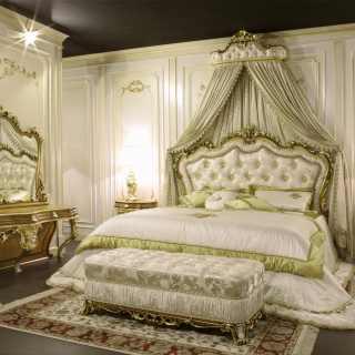 Mobili per camera classica barocca