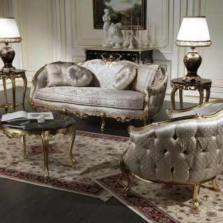 Divani classici in stile della collezione Venezia
