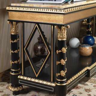 Étagère Luigi XV della collezione classica di lusso Chinoiserie, ispirata all'arte cinese