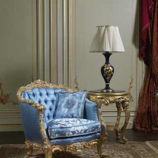 Poltrona di lusso, collezione classica di lusso Salotto Settecento
