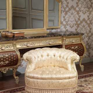 Poltrona per camera di lusso