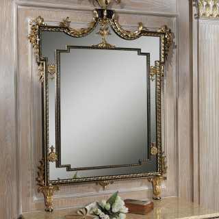 Specchio classico di lusso della serie Chinoiserie, stile classico ispirato agli arredi cinesi