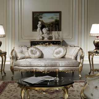 Divano classico in stile, collezione Venezia