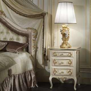 Comodino di lusso classico Louvre 943