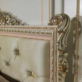 Testiera letto lusso camera Louvre 943