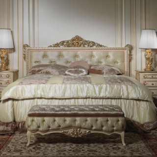 Letto matrimoniale stile classico Louvre 943