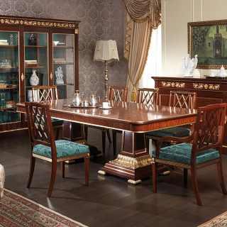 Sala da pranzo Ermitage in stile Impero