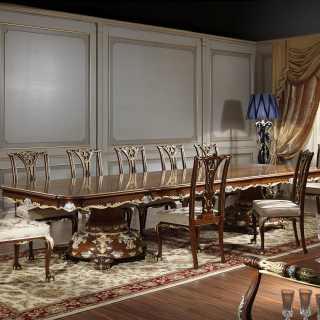 Sala in stile classico Luigi XV