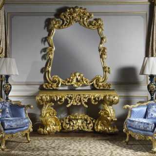 Consolle in stile barocco
