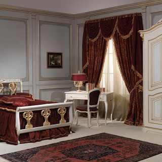 Camere da letto classiche e mobili classici e di lusso per for Mobili 700 francese