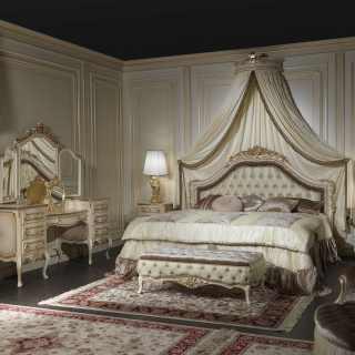 Camere da letto classiche e mobili classici e di lusso per - Camere da letto classiche bianche ...