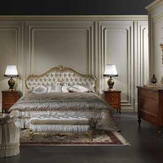 Camere da letto classiche e mobili classici e di lusso per for Camera matrimoniale in stile vittoriano
