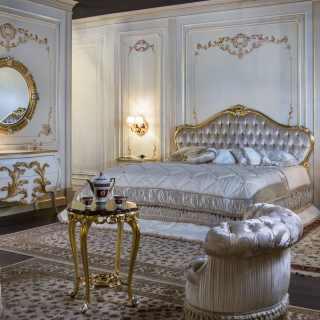 Camere da letto classiche e mobili classici e di lusso per zona notte vimercati meda - Camera matrimoniale classica ...