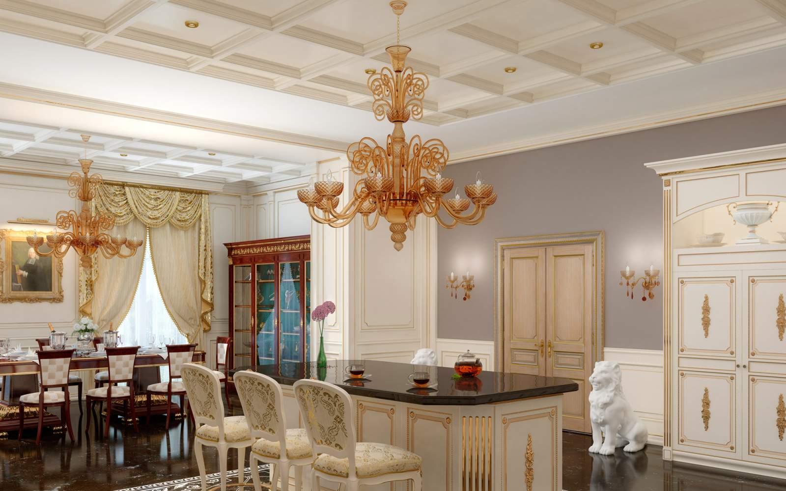 Cucina su misura di lusso Olga