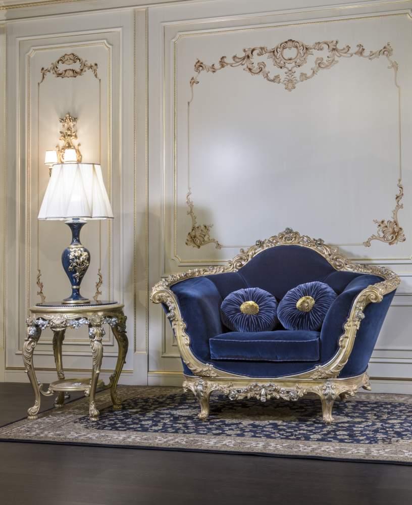 Poltrona classica di lusso empire vimercati meda for Non solo salotti luxury