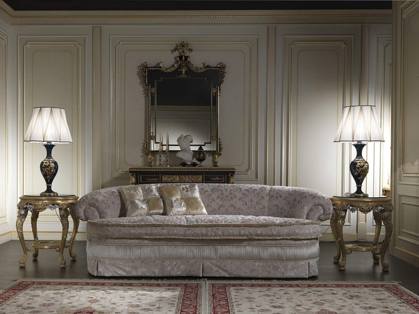 Divano classico elegante salotto londra vimercati meda for Salotto elegante