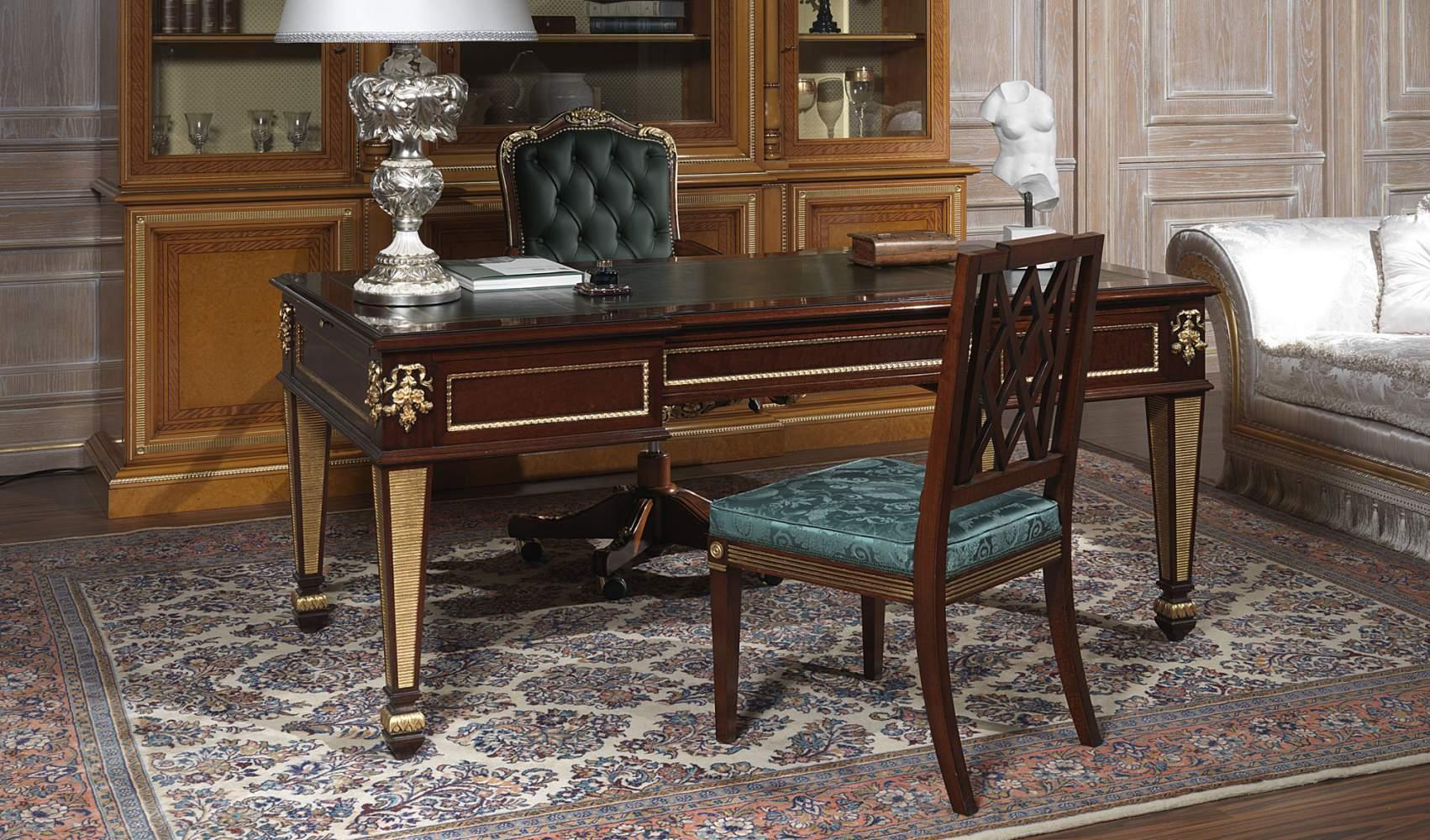 Scrivania per ufficio classico modello Ermitage