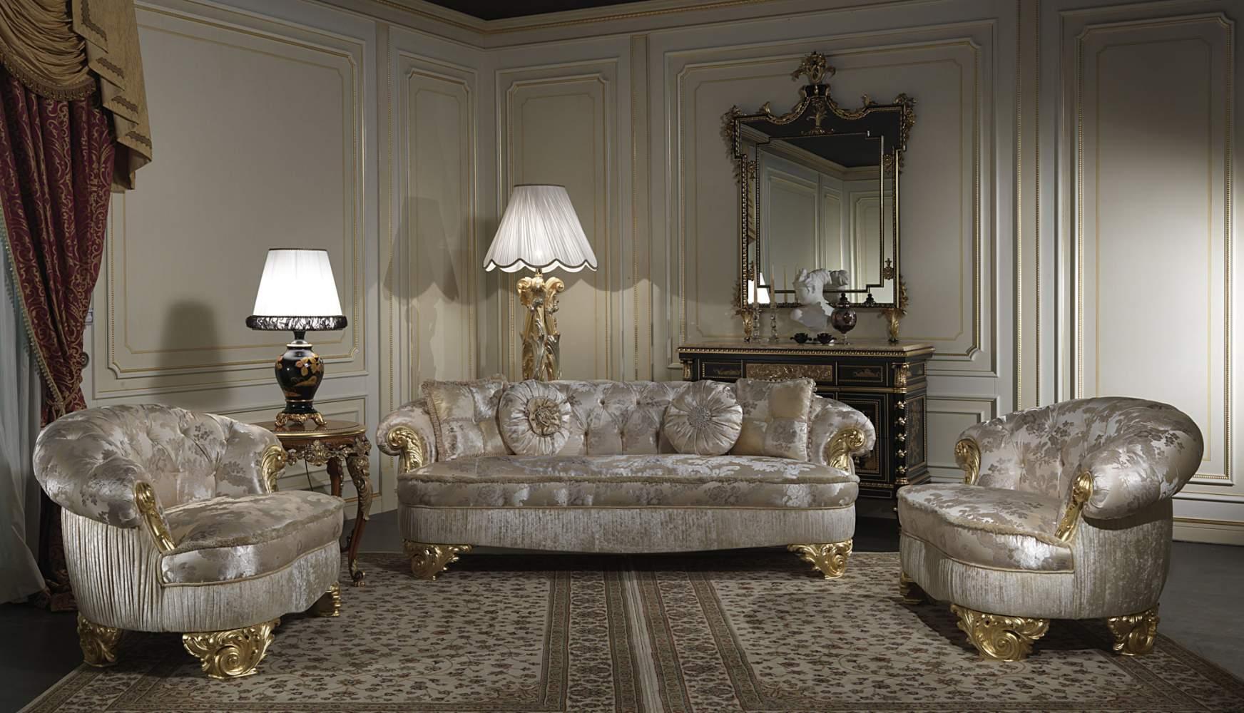 Divani esclusivi in stile classico Parigi  Vimercati Meda