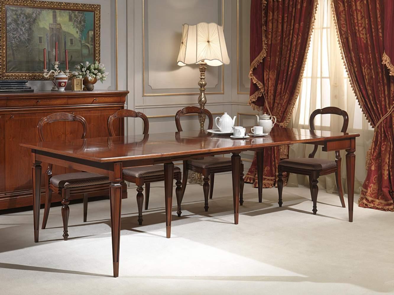 Tavolo consolle classico allungato