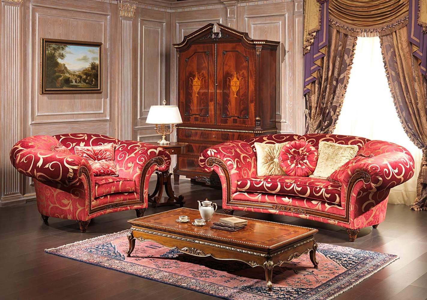 Salotto classico palace con tavolo vimercati meda