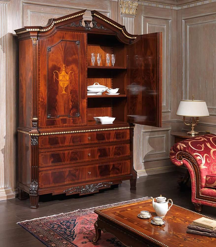 Bureau in mogano neoclassico