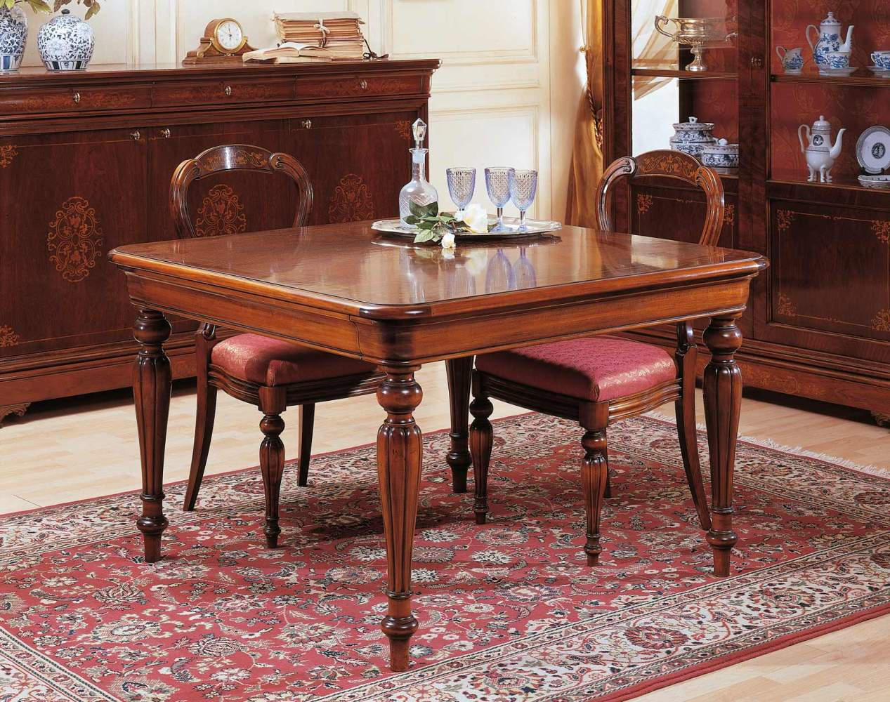 Tavolo quadrato 800 francese