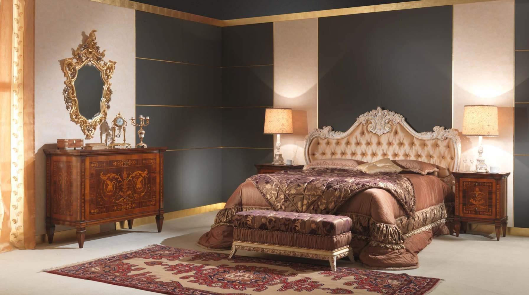camera da letto classica 700 italiano e maggiolini