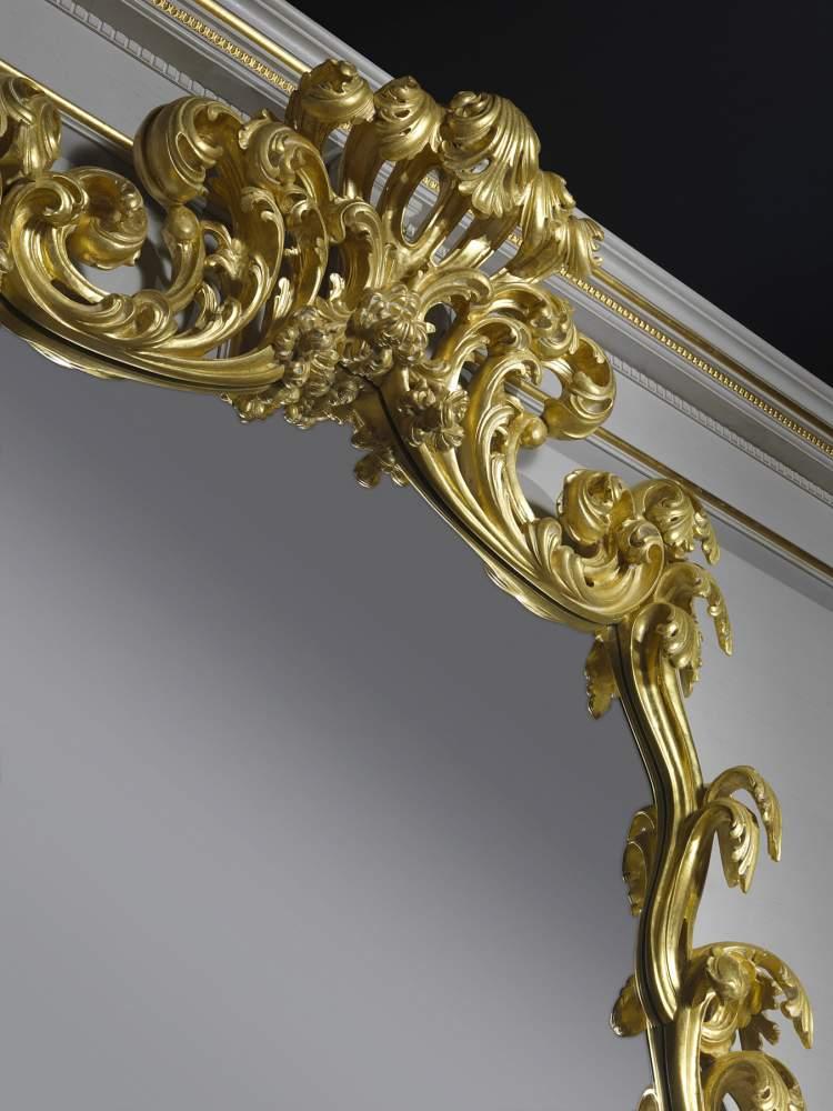 Consolle stile barocco con specchio 995