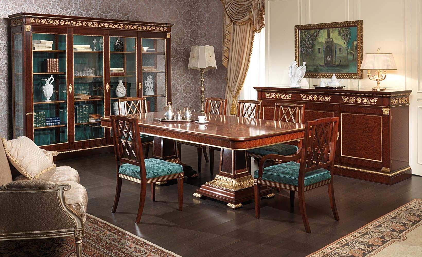 Sala Da Pranzo Ermitage In Stile Impero Vimercati Meda #8F623C 1640 1000 Zara Home Sala Da Pranzo