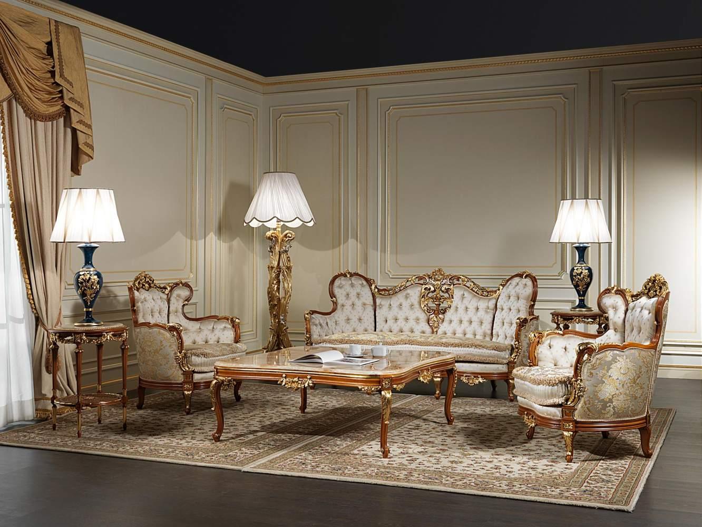 Salotto 800 in stile classico di lusso vimercati meda for Mobili italy